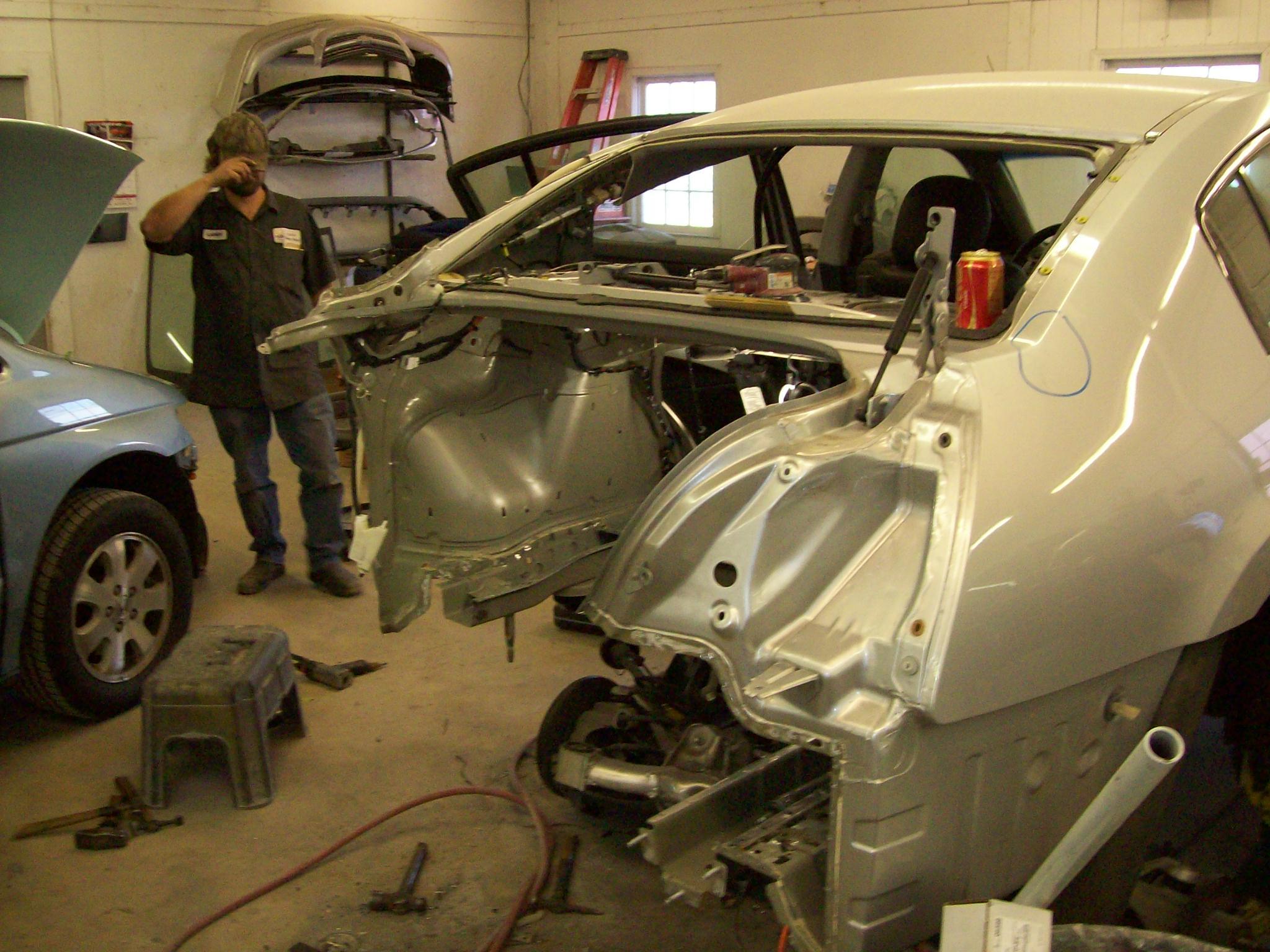 Maxima During Repair